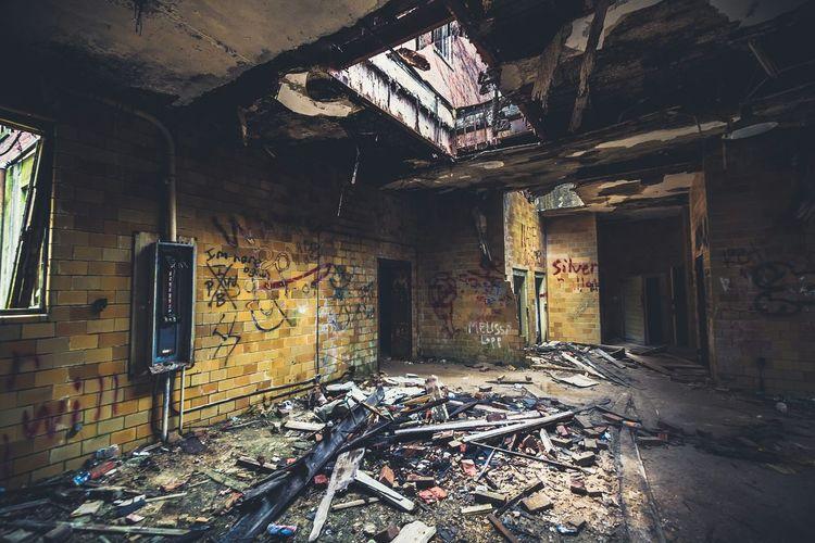 Abandoned And Derelict Asylum Hospital