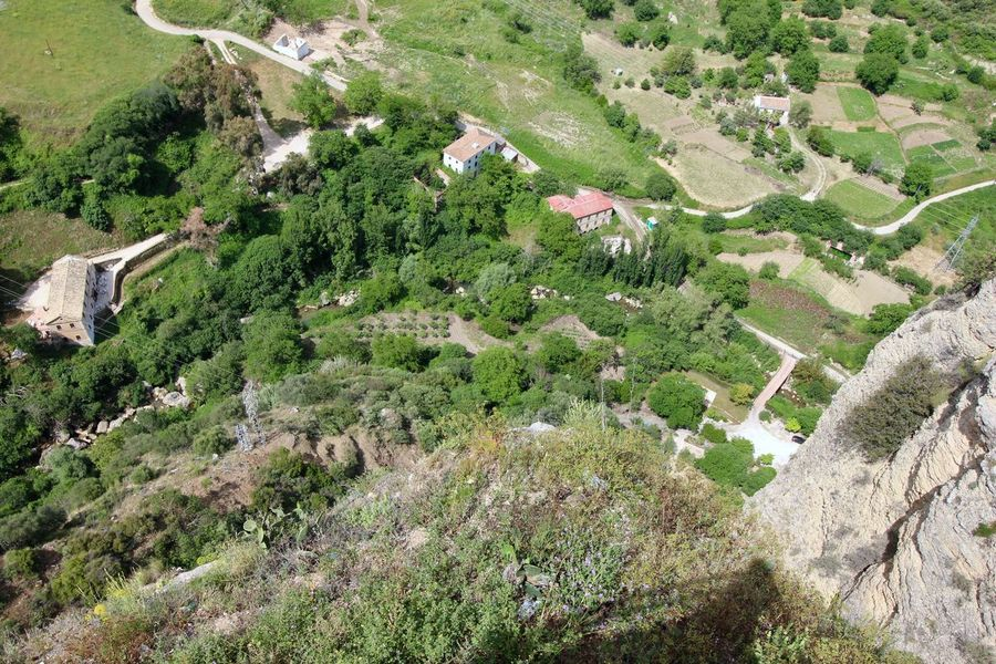 Panoramic view from Ronda. Architecture From Above Cliffs Day Fields Flying High From Above  High Angle View Landscape_Collection Landscape_photography Nature Photography Outdoors Panoramic Landscape Panoramic Photography Panoramic Views People From Above Roadscenes Scnery Travel Destinations Treescape