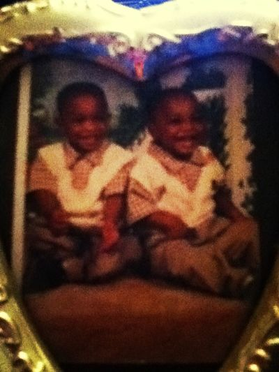 Me and my brother when we were little