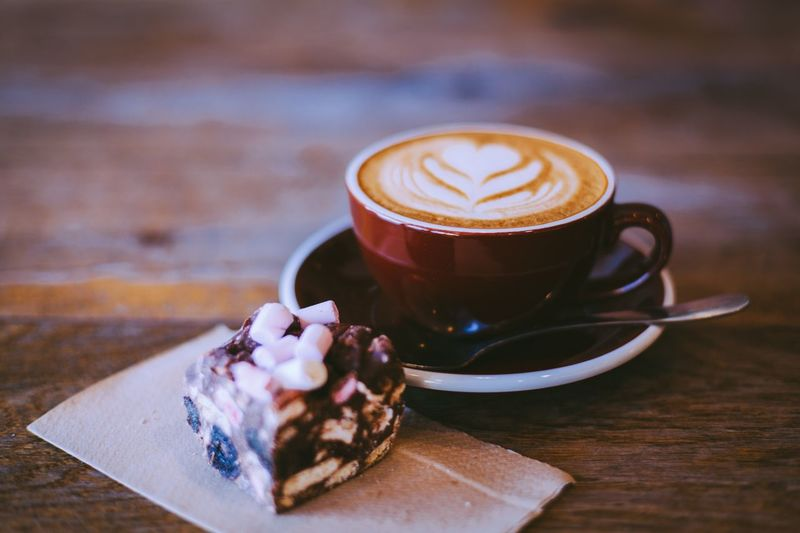 Coffee - Drink Coffee Cup Food And Drink Drink Table Cappuccino Refreshment Frothy Drink Freshness Latte Close-up Froth Art No People Indoors  Day
