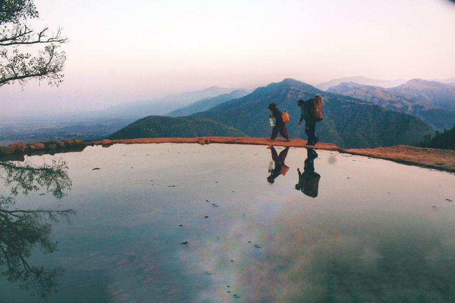 Reflection Mountain Reflection Lake Landscape Mountain Range Nature Beauty In Nature Sky Outdoors Full Length Water Scenics Cloud - Sky People Nepali  Nepal Travel Nepalipeople😊 Nepali Culture Nepal Nepalese Culture Nepali  Nepali People Nepal8thwonder Nepaligirls Nepali Way EyeEmNewHere