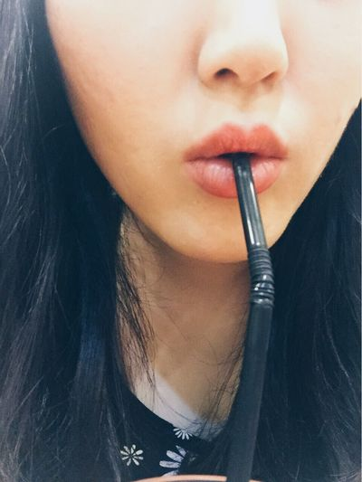 Close-up One Person Human Lips Indoors  Young Adult Young Women Day People EyeEmNewHere