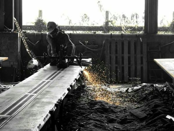 Working Hard Construction Worker Jobs Factory Eyemphotography EyeEm Best Shots Man Construction Respect