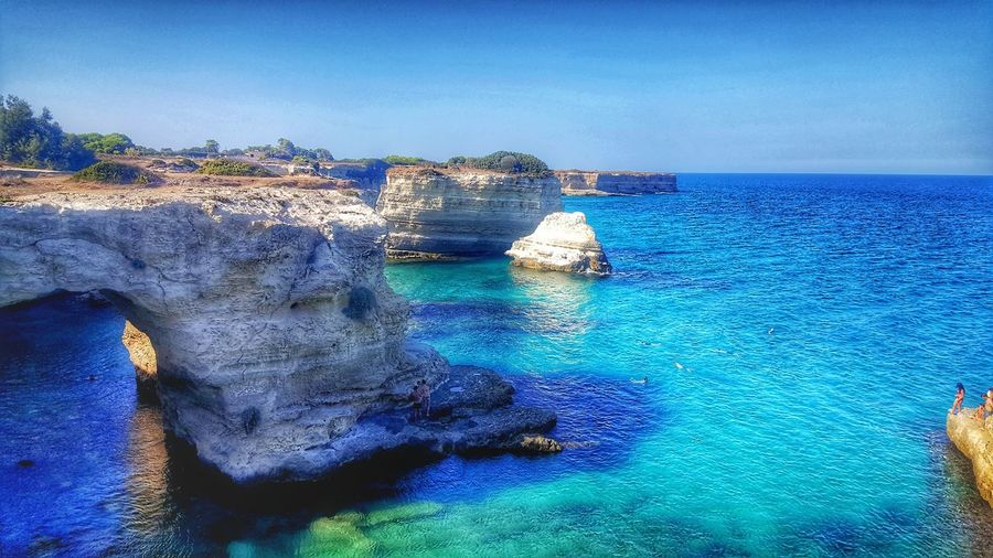 Sea Blue Water Beauty In Nature Nature Outdoors Beach Day No People Scenics Sky Vacations Summer ☀ Summer2017🌞 September 2017