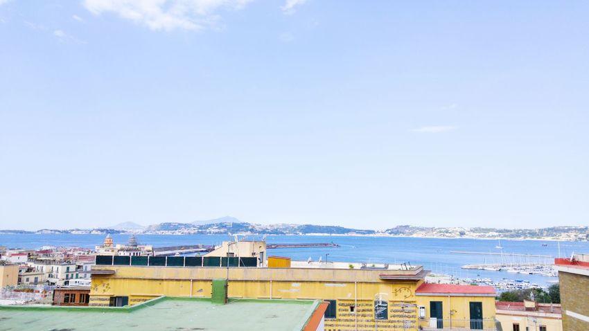 Pozzuoli Hello World Blue Wave The Essence Of Summer Naples Bay Of Naples, Italy.