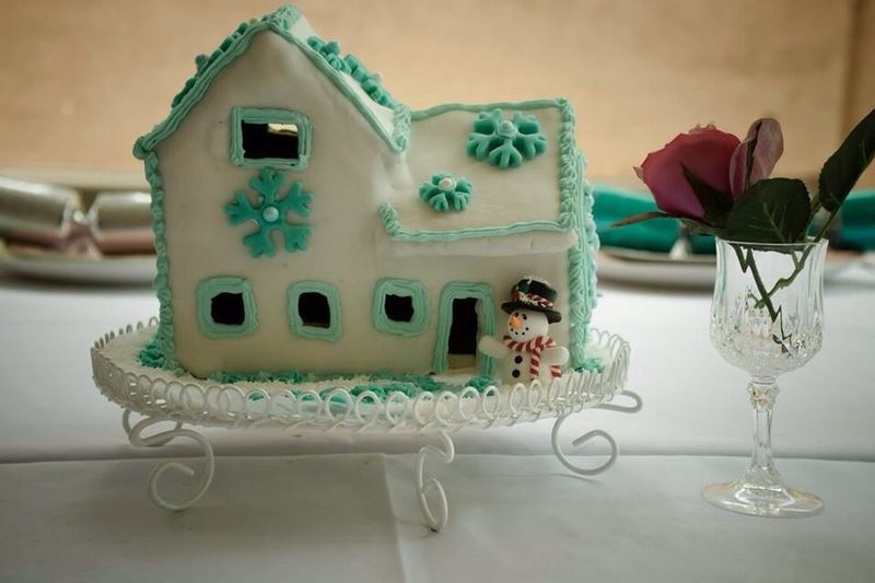 Food Photography Chistmas Gingerbread House