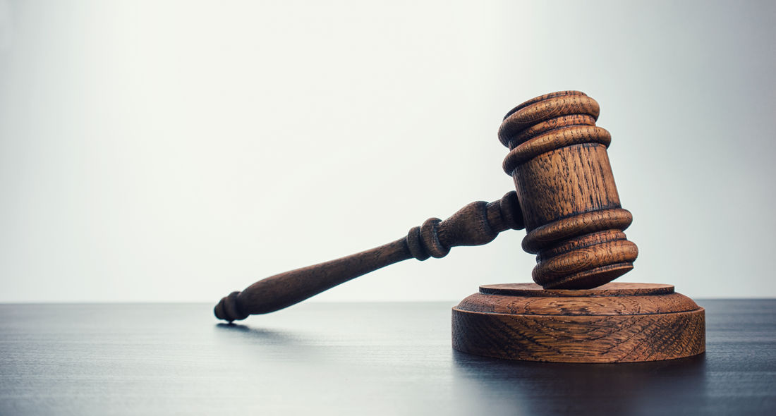 Wooden judge gavel on a table - Justice concept image Auction Authority Copy Space Crime Guilty Innocence Jury Lawyer Concept Courthouse Courtroom Criminal Decision Gavel Hitting Judge Judicial Justice Law Legal No People Punishment Studio Shot Table Wood - Material