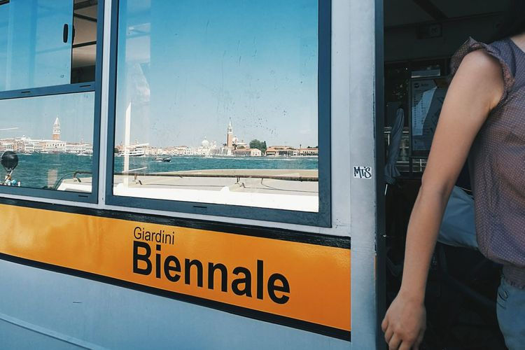 Be A Tourist Urban Geometry Skyline Eye4photography  Mobilephotography Mirrorreflection Reflection Taking Photos VSCO Vscocam HuaweiP9 Sky Skyporn People Watching Venice Venezia Biennale Showcase July People And Places