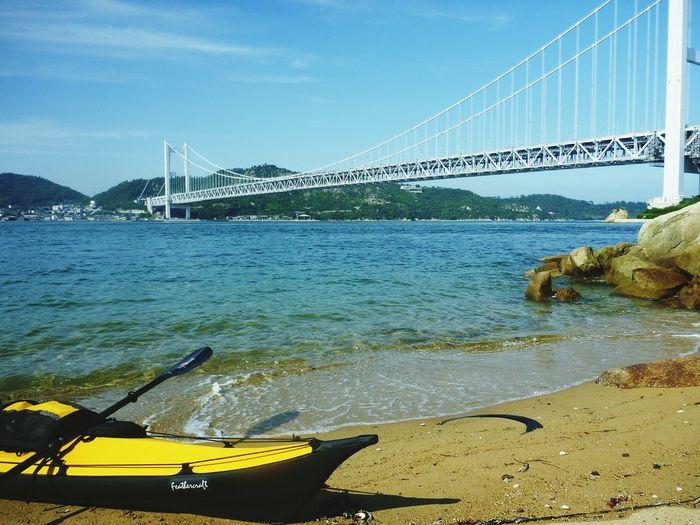 2009.6 Kayaking Seascape Bridge Life Is A Beach