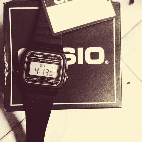 Casio Casio Watch Casiovintage Casioclassic Watch Black Time