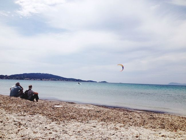 Enjoying The Sun Sea Relaxing Méditerranée EyeEm Best Shots Enjoying The View Sunday Kitesurfing