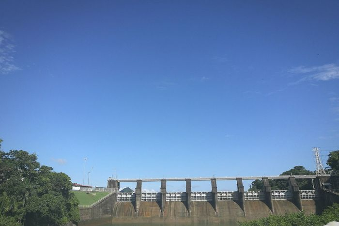 Canals And Waterways Clear Sky Day Outdoors Sky PanamaCanal