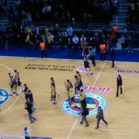 Turkcell Longue  mac keyfi... Fenerbahceulker vs Panathinaikos basketbol basketball euroleague fenerbahce fenerbahçe 1907 istanbul