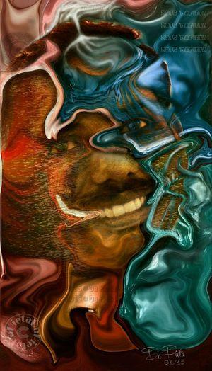 ?TAKING KNOWLEDGE FROM THE SOURCE?..... Artistic Design Fantasy Art Cyborg Warped  3-D Digitalart  Digital Painting Fantasy Edits