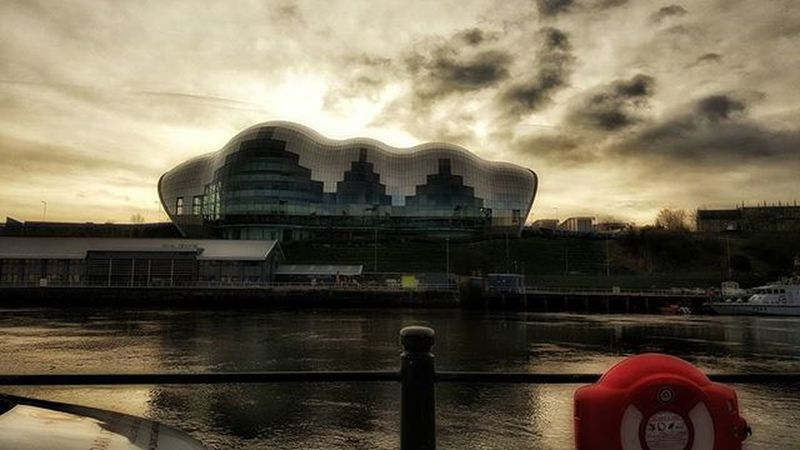 Newcastle ❤ River Rivertyne Newcastle Sunset Sage Gateshead England