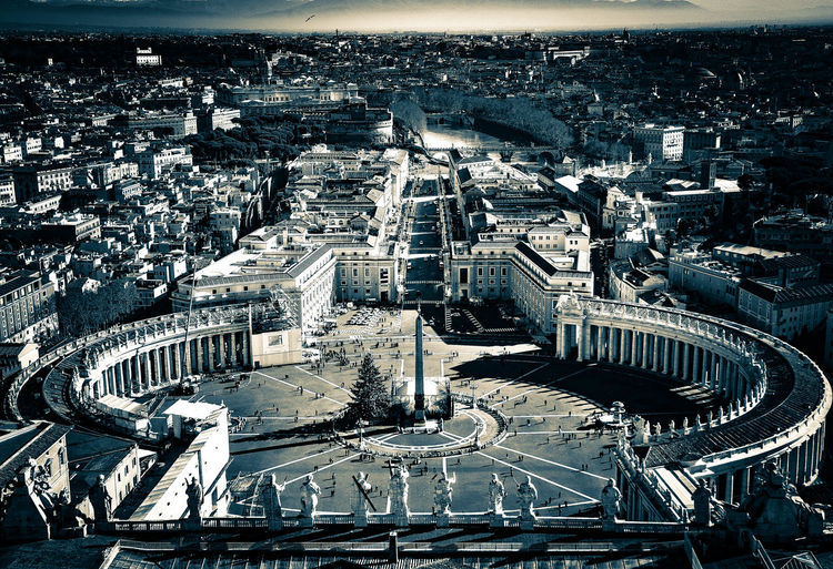 Backgrounds Full Frame No People Close-up Beauty Horizon Light And Shadow Architecture Built Structure Roma City Ancient History Bw Bw_collection Blackandwhite Vatican Black And White Friday Moving Around Rome