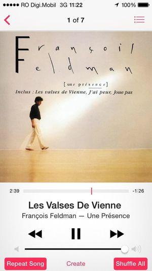 Song of the day... Songoftheday Music Frenchmusic Heavyrotation IPhone