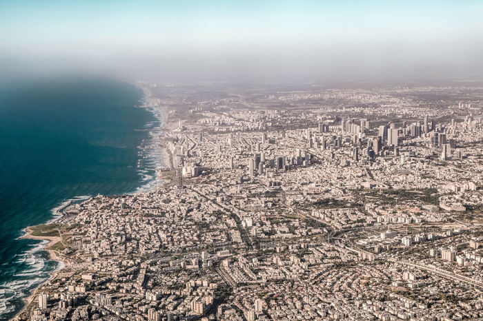 First (and probably not the last) visit to Tel Aviv, Israel. Amazing city. Architecture Ben Gurion Airport City Cityscape Coastline Mediterranean Sea Modern Travel Aerial View Airplane Awe Beach Building Exterior Crowded Cultures Development Distant History Journey Sky Taking Off - Activity Tourism Travel Destinations Water Window