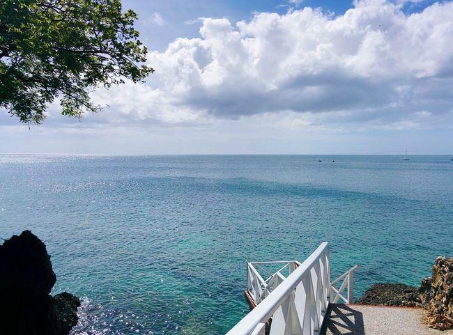 Ocean Tobago Beautiful Sky Vacation Summer