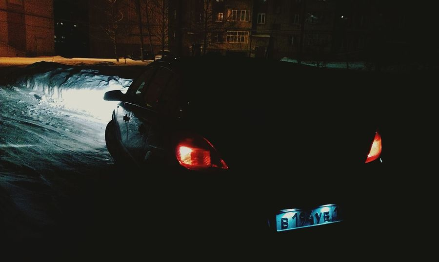 Opel Astra Nightphotography
