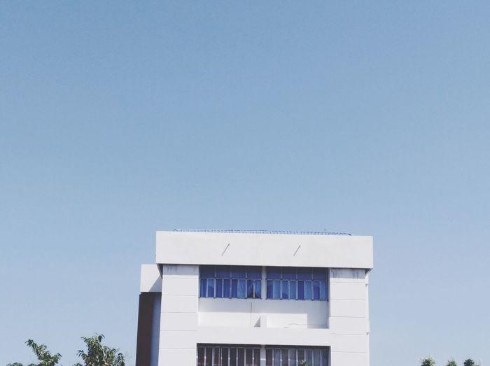 building&sky Blue Architecture Building Exterior