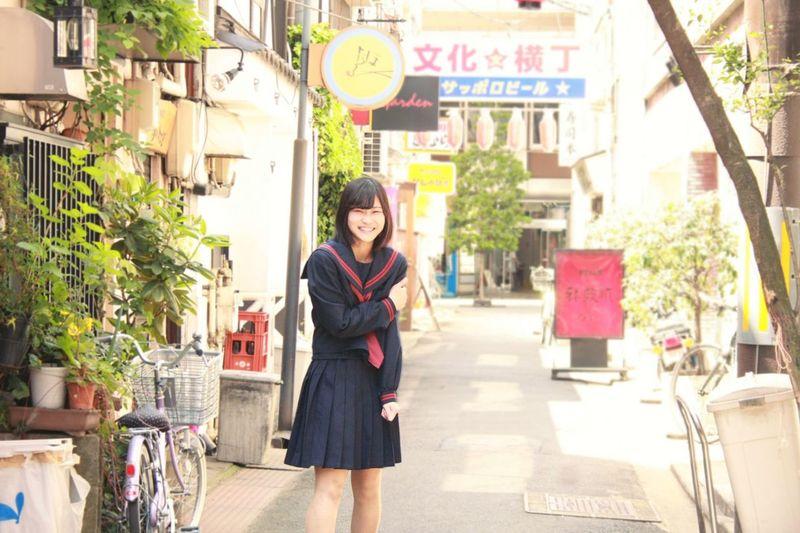 Japan Girly Japanese  Model Girl Portrait Sailor セーラー服