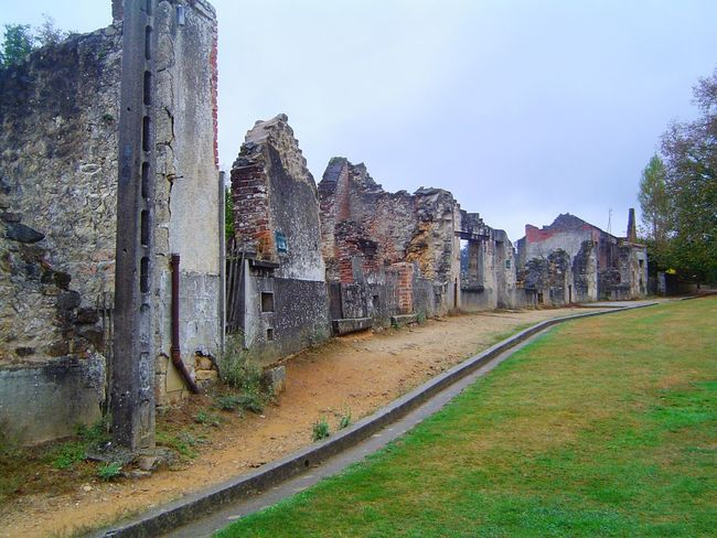 Architecture Built Structure France Historic Old Old Ruin Oradour Sur Glane Village Martyr