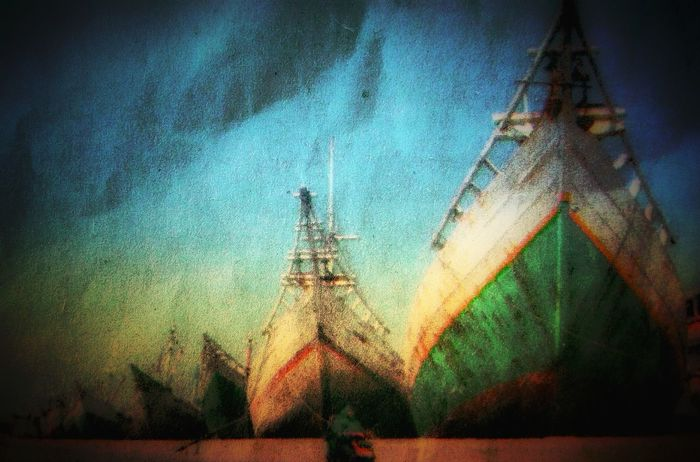Classic Boat Acehnes Boats Classisinternal Sea Achnes People Water Men Sky
