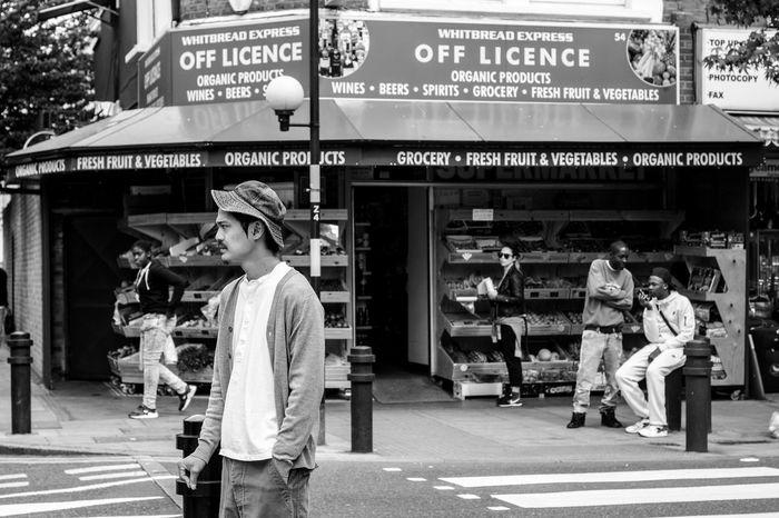 EyeEm Best Shots EyeEm LOST IN London EyeEm New Here EyeEm Gallery EyeEmStreetshots London Architecture Londonlife Off Licence Outdoors Real People Streetphotography Young Adult Postcode Postcards