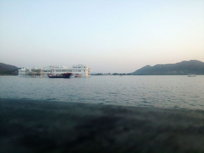 Manji Raj Ji Ka Ghar at Udaipur Sea Beach Sky Boat Water Vehicle