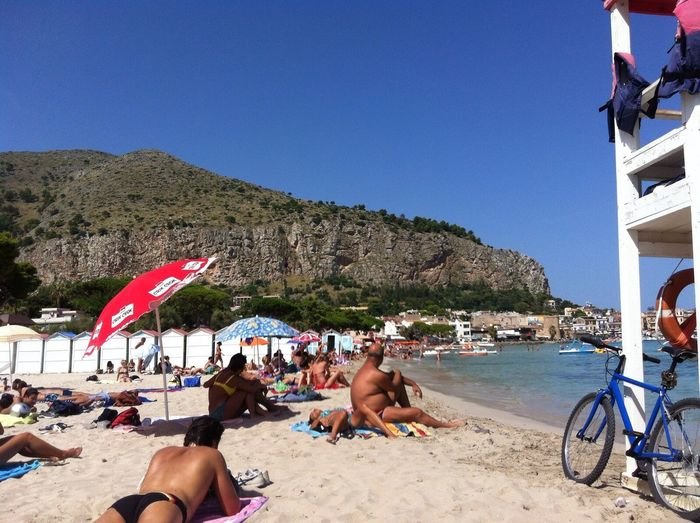 Mondello Mondellobeach Beach Capo Gallo Lifeguard  IPhoneography EyeEm Postcard IPhone Iphoneonly