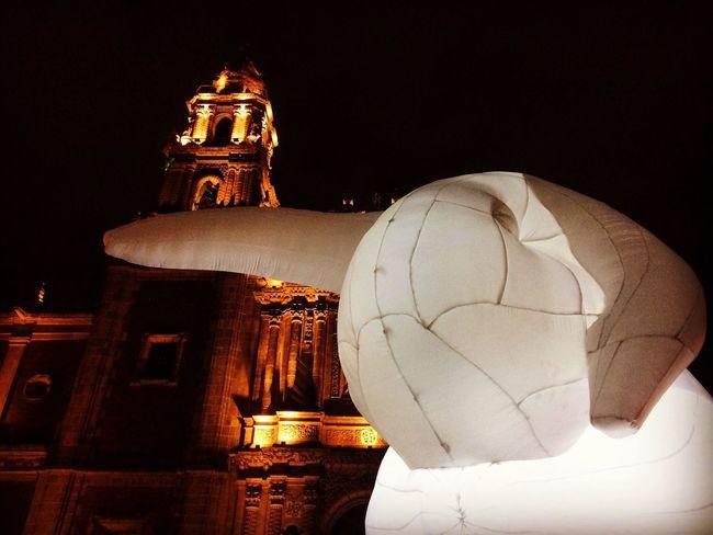 Spirituality Religion Night No People Place Of Worship Illuminated Low Angle View Architecture Sky Outdoors Rabbit 🐇 Rabbit ❤️ Rabbits 🐇 Rabbits Rabbit Mexico City Performance