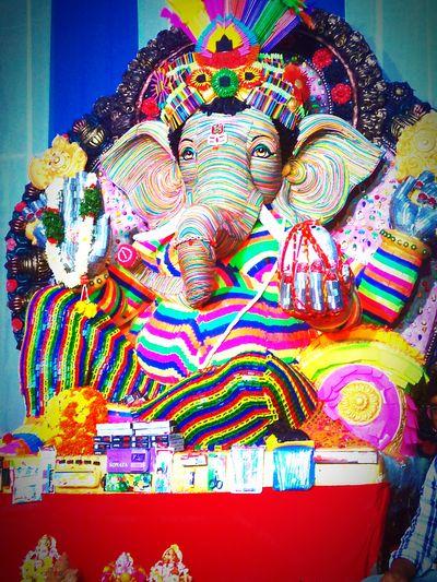 Ganeshustav Ganpati Festival Ganapathi-bhappa-mouriya GanpatiBappaMorya Ganesha Portrait Ganeshchaturthispecial Ganesha.Jai Shree Ganesh Ganesha Ganesha Statue ...Lord Ganeshamade of stationary