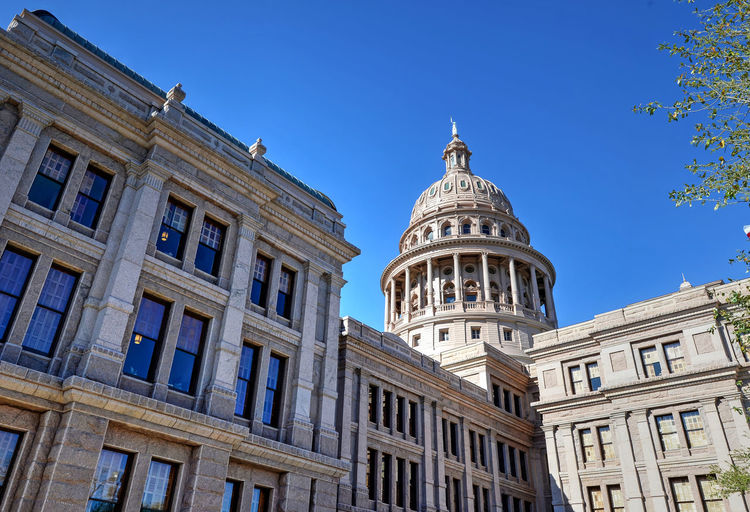 The Texas State Capitol in Austin, Texas Austin Austin Capitol Austin Texas Government Government Building Texas Texas Capitol Texas State Capitol Texas State Capitol Building Travel Architecture Built Structure No People Travel Destinations