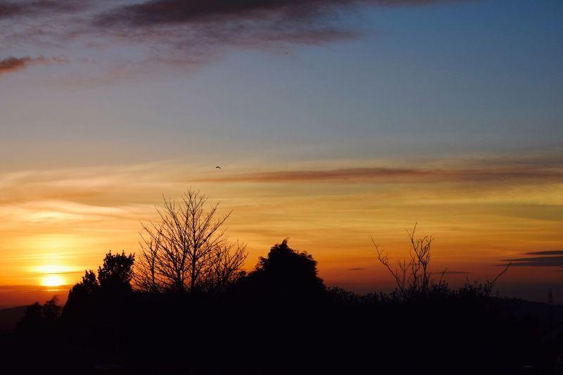Sunset, Belthorn, Lancashire, March 2017 First Eyeem Photo