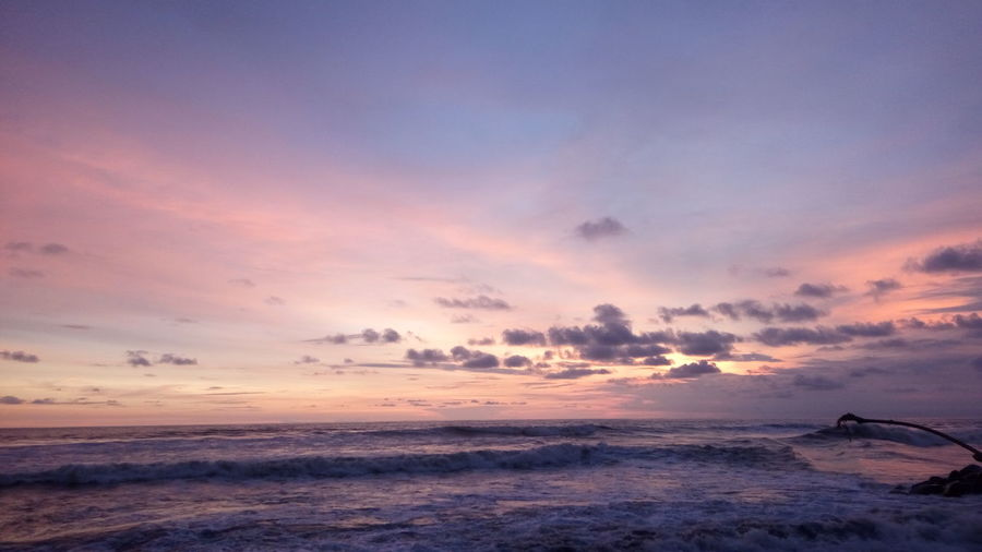 Sunset in the congot beach Sunset Sunset_collection Sunset Silhouettes Mision  Water Wave Low Tide Sea Sunset Beauty Beach Galaxy Multi Colored Sand Atmospheric Mood Moody Sky Meteorology Cloudscape Dramatic Landscape Cumulus Romantic Sky