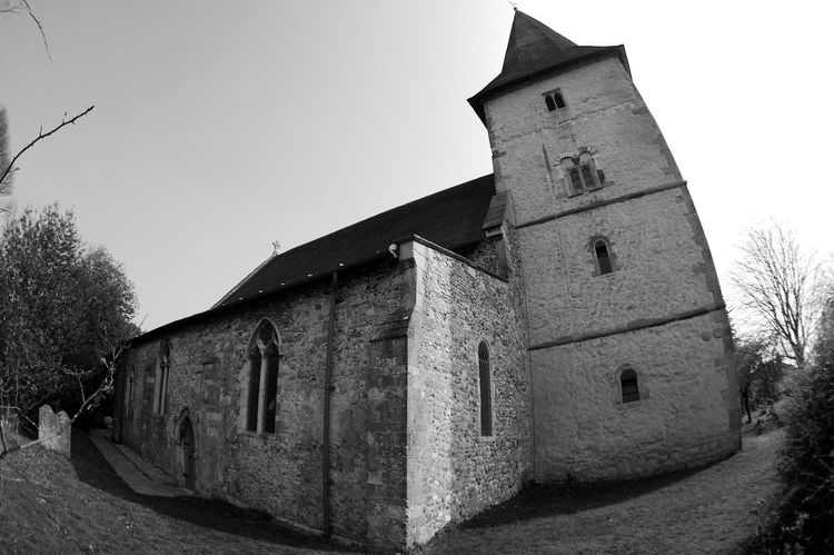 Bosham Saxon Church Cnut The Great King Canute Saxon Church Architecture Blackandwhite Building Building Exterior Built Structure History Old Place Of Worship Religion The Past