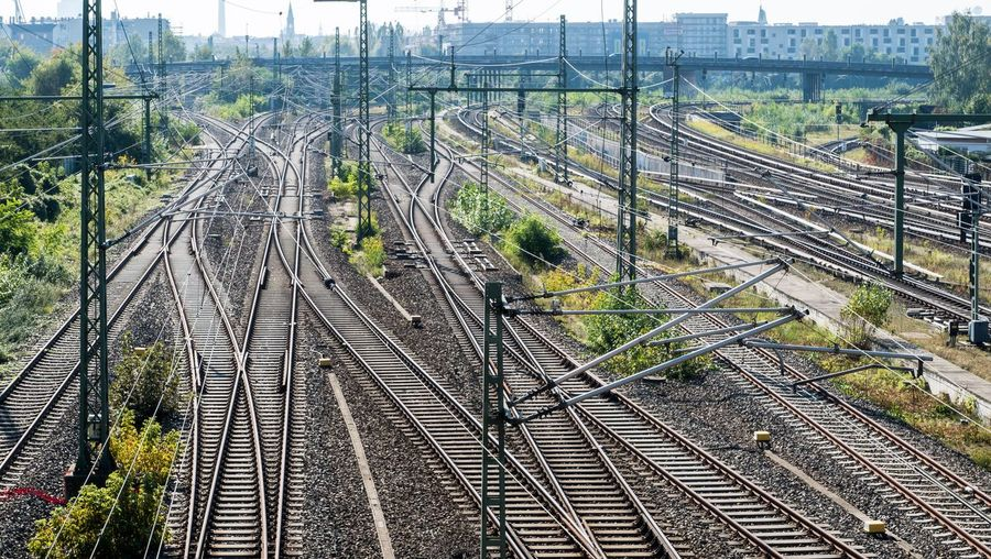 City Railway Rails Complexity Confusion Business Logistic Logistics Prenzlauer Berg Track Rail Transportation Railroad Track Transportation High Angle View Public Transportation Complexity Mode Of Transportation Connection Train - Vehicle Crossroad Travel City Architecture The Way Forward #FREIHEITBERLIN