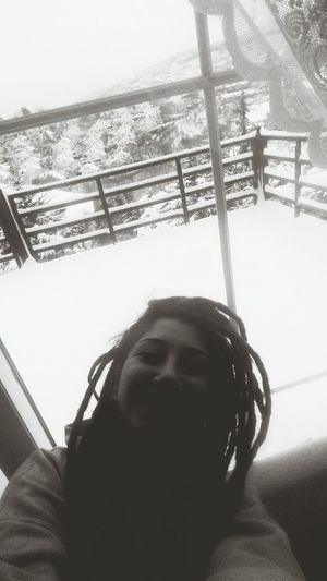 Snow Like Crazy! Beautiful Day Dreadgirl