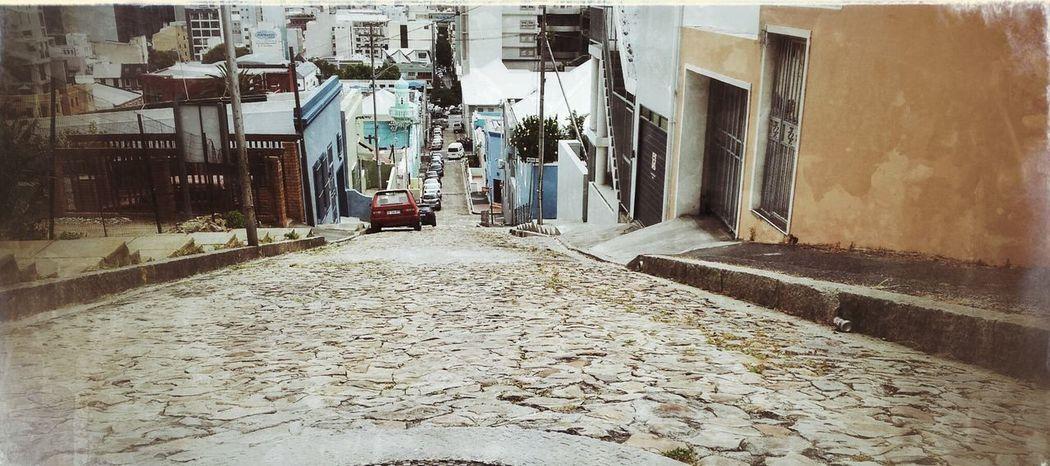 BoKaap cobbles Street Scene Ilovecapetown