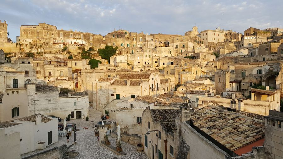 Caves Cave Houses Sasso Sassi Di Matera Sassi Matera Italy Basilicata European Capital Of Culture 2019 Cityscape Ancient History Ancient Civilization Sky Architecture Civilization Residential Structure Settlement Residential District Exterior Historic