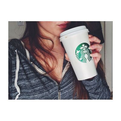 Coffee fix ☕️ Coffee Starbucks Yummy