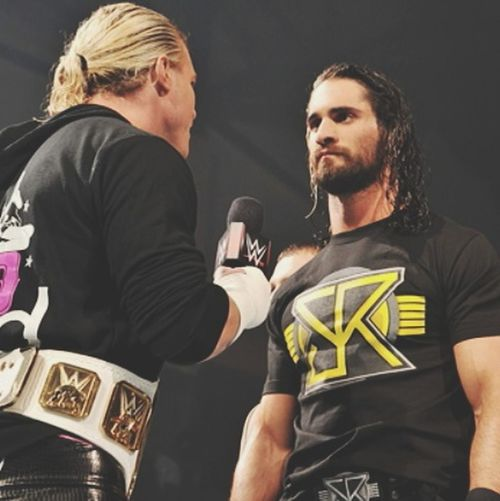 Dolph Ziggler and Seth Rollins!