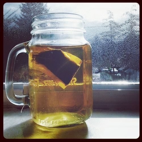 This morning's tea. Apricot white teach from Touchorganics . Tea Teatime Teainajar tealover tealoverslofinstagram teadrinkersanonymous teadrinkersofinstagram teabag whitetea apricottea sunshine