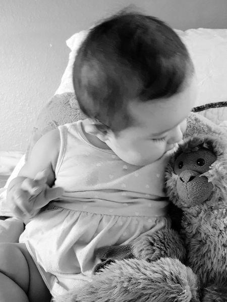 monkey love babygirl Babysitting Adorable