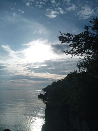 By d cliff Reflection Cloud - Sky Water Nature Sea