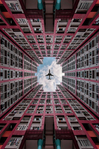 Hong Kong Architecture Ngau Tau Kok Lotus Tower 玉蓮臺 Lookingup Looking Up Architecture EyeEm Best Shots EyeEm Gallery EyeEm Selects Building Exterior Architecture Built Structure Low Angle View Building Day City Real People Window Geometric Shape Outdoors Reflection Ceiling Digital Composite Shape Circle Directly Below My Best Photo The Architect - 2019 EyeEm Awards The Minimalist - 2019 EyeEm Awards The Creative - 2019 EyeEm Awards