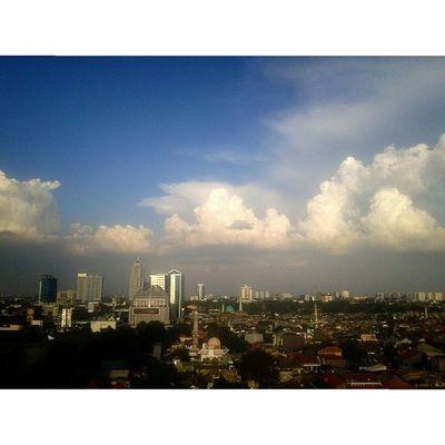 Jakarta... Jakarta Transtv  Senja  Rooftop