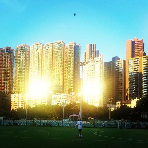Football HongKong Happyvalley Highrise Sunset Boyfriend Hoboda