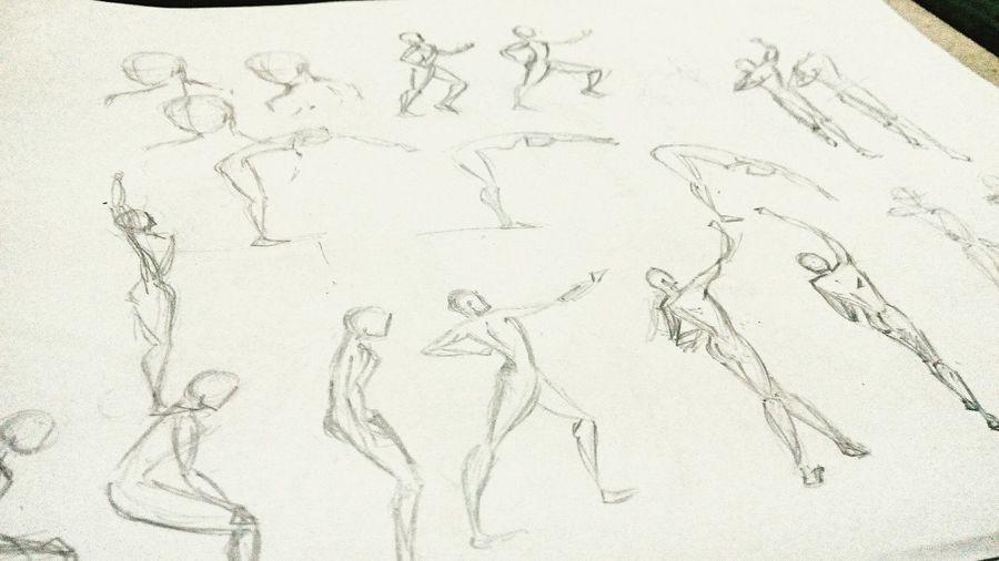 Basicmovements Bodymovements Practice Sketch Animation Inbetweening